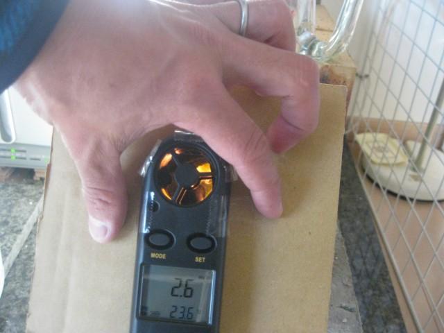 室内暖房に活用している自作薪ストーブの暖房能力を測定