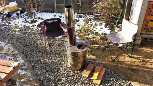 煙が少なく暖かい焚火缶の使い勝手を徹底検証